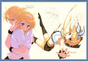 Rating: Safe Score: 71 Tags: dmyo fixme gap kagamine_len kagamine_rin snow_ring thighhighs vocaloid User: midzki
