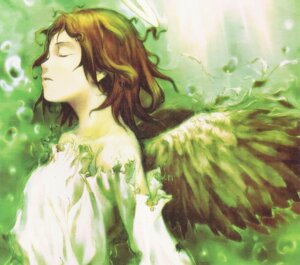 Rating: Safe Score: 12 Tags: abe_yoshitoshi haibane_renmei rakka wings User: Radioactive
