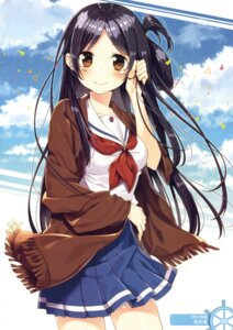Rating: Safe Score: 52 Tags: high_school_fleet marikouji_kaede sakuragi_ren seifuku User: Twinsenzw