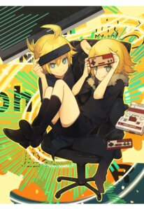 Rating: Safe Score: 18 Tags: aki kagamine_len kagamine_rin vocaloid User: Nekotsúh