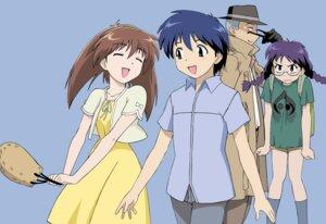 Rating: Safe Score: 9 Tags: dress iizuka_kazuto maruo_masaki megane nanase_narue narue_no_sekai summer_dress yagi_hajime User: Radioactive