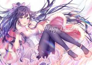 Rating: Safe Score: 55 Tags: cleavage date_a_live dress heels kity1211_tetsu pantyhose yatogami_tooka User: kiyoe