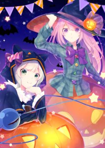 Rating: Safe Score: 11 Tags: halloween hata_no_kokoro komeiji_koishi shinketsu_kanyu touhou witch User: Mr_GT