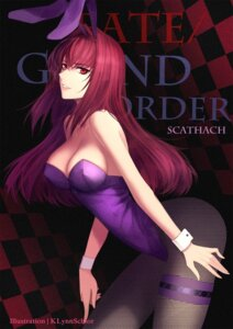 Rating: Safe Score: 25 Tags: animal_ears bunny_ears bunny_girl cleavage fate/grand_order fishnets pantyhose red-d scathach_(fate/grand_order) User: RyuZU