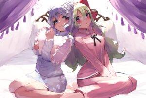 Rating: Safe Score: 15 Tags: heterochromia pajama takuan_(mo55ilst) User: BattlequeenYume