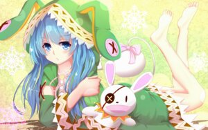 Rating: Questionable Score: 55 Tags: bakanoe date_a_live feet yoshino_(date_a_live) User: sylver650