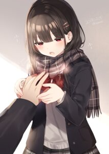 Rating: Safe Score: 44 Tags: mafuyu_(chibi21) seifuku sweater User: hiroimo2