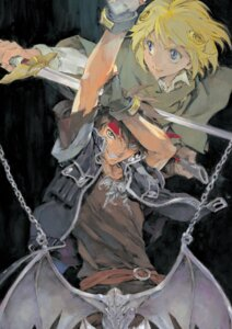 Rating: Safe Score: 5 Tags: cleao_everlasting kusaka_yuuya majutsushi_orphen orphen sword User: Radioactive