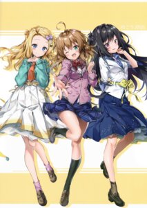 Rating: Safe Score: 36 Tags: eterna-radiare riichu seifuku User: Radioactive