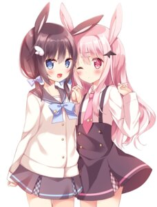 Rating: Safe Score: 71 Tags: animal_ears bunny_ears hoshi seifuku User: edogawaconan