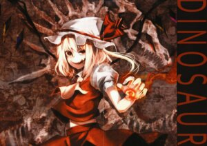 Rating: Questionable Score: 8 Tags: fixme flandre_scarlet labeloport touhou tsurukame User: midzki