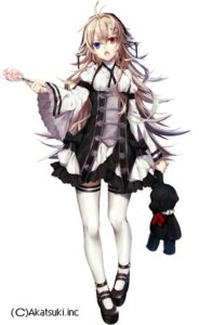 Rating: Safe Score: 55 Tags: dress gothic_lolita heterochromia lolita_fashion shirotaka thighhighs User: KazukiNanako