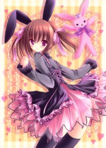 Rating: Questionable Score: 58 Tags: animal_ears bunny_ears loli pantsu see_through thighhighs tinkerbell tinkle User: crim