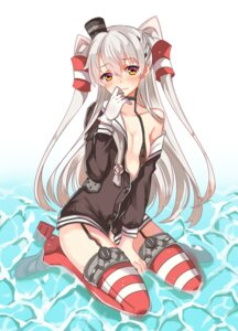 Rating: Questionable Score: 67 Tags: amatsukaze_(kancolle) bottomless kantai_collection loli open_shirt stockings thighhighs zonana User: tbchyu001