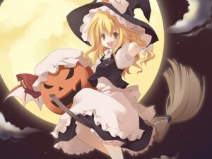 Rating: Safe Score: 9 Tags: halloween kirisame_marisa kiseki_(artist) touhou wallpaper User: Radioactive