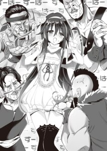 Rating: Questionable Score: 8 Tags: monochrome youta zettai_ni_hatarakitakunai_dungeon_master_ga_damin_wo_musaboru_made User: kiyoe