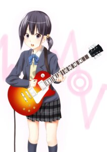 Rating: Safe Score: 13 Tags: dacchi guitar kokoro_connect k-on! nagase_iori parody seifuku User: Radioactive