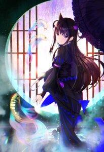 Rating: Safe Score: 6 Tags: dress fate/grand_order murasaki_shikibu_(fate) tagme umbrella User: BattlequeenYume
