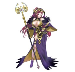 Rating: Questionable Score: 15 Tags: dress fire_emblem fire_emblem_heroes garter heels loki_(fire_emblem) maeshima_shigeki nintendo no_bra weapon User: fly24