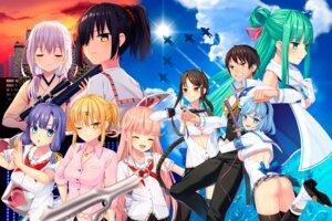Rating: Questionable Score: 12 Tags: ass bra cleavage gun heels japanese_clothes kisaragi_chiyuki kyokutyo nopan nukigee_mitai_na_shima_ni_sunderu_watashi_wa_dou_surya_ii_desu_ka? nukigee_mitai_na_shima_ni_sunderu_watashi_wa_dou_surya_ii_desu_ka?_2 open_shirt qruppo seifuku sword thighhighs User: moonian