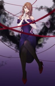 Rating: Safe Score: 21 Tags: akiyama_cz4a dress heels pantyhose touhou yakumo_yukari User: mash