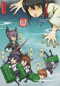 Rating: Safe Score: 7 Tags: akizuki_(kondou_kyouhei) eyepatch kantai_collection pantyhose seifuku sword User: Radioactive