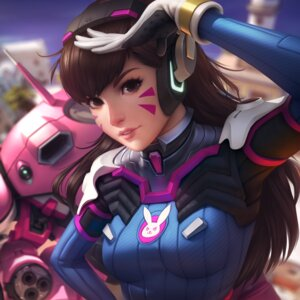 Rating: Safe Score: 93 Tags: bodysuit d.va headphones jonathan_hamilton mecha overwatch User: mash