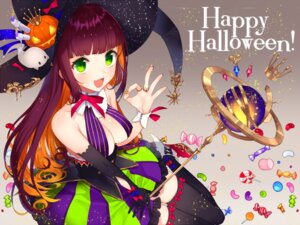 Rating: Safe Score: 40 Tags: halloween heels no_bra thighhighs weapon witch yusano User: nphuongsun93