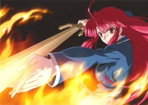 Rating: Safe Score: 8 Tags: kannagi_ayano kaze_no_stigma User: Radioactive