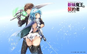 Rating: Questionable Score: 96 Tags: ass nonaka_yuki ookuma_nekosuke shinmai_maou_no_testament sword thighhighs toujou_basara wallpaper User: blooregardo