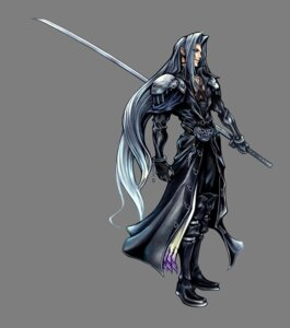 Rating: Safe Score: 22 Tags: armor dissidia_final_fantasy final_fantasy final_fantasy_vii male nomura_tetsuya sephiroth square_enix sword transparent_png User: Lua