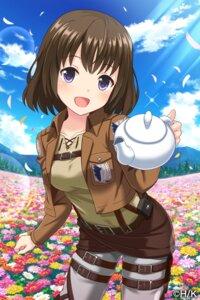 Rating: Safe Score: 30 Tags: alternative_girls asahina_nono cosplay shingeki_no_kyojin tagme uniform User: saemonnokami