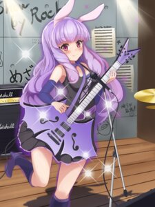 Rating: Safe Score: 33 Tags: animal_ears bunny_ears chuchu_(show_by_rock!!) dress eruthika guitar heels show_by_rock!! User: charunetra