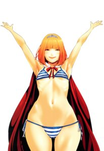 Rating: Questionable Score: 40 Tags: bikini hiramoto_akira midorikawa_hana prison_school swimsuits User: Radioactive