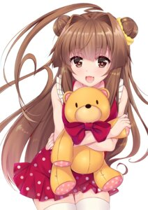 Rating: Safe Score: 44 Tags: dress kantai_collection kuma_(kancolle) thighhighs yukina_(black0312) User: Mr_GT