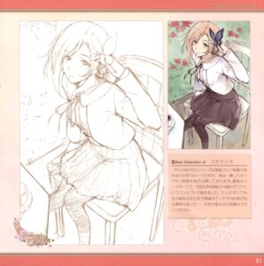 Rating: Questionable Score: 8 Tags: dalia_basquiat flowers sketch sugina_miki User: Radioactive