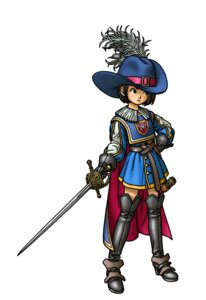 Rating: Safe Score: 0 Tags: dragon_quest_ix sword thighhighs toriyama_akira User: Radioactive