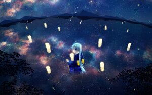 Rating: Safe Score: 32 Tags: agent_no.9 hatsune_miku kimono landscape vocaloid wallpaper User: charunetra