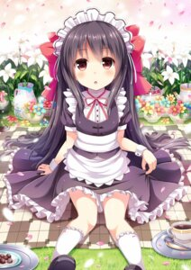 Rating: Safe Score: 54 Tags: dress maid moe2015 sen_kagura User: KazukiNanako