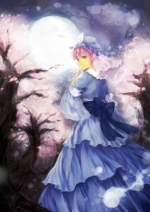 Rating: Safe Score: 9 Tags: chagu saigyouji_yuyuko touhou User: animeprincess