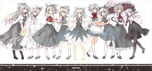 Rating: Safe Score: 17 Tags: animal_ears cirno cosplay dress hina maid megane nekomimi pantyhose tail touhou User: yumichi-sama