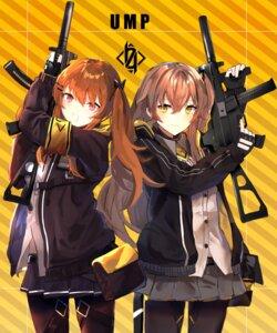 Rating: Safe Score: 16 Tags: girls_frontline gun naitsu pantyhose ump45_(girls_frontline) ump9_(girls_frontline) User: Nepcoheart