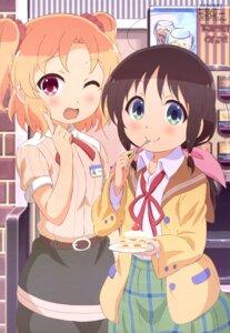 Rating: Safe Score: 29 Tags: fujikawa_kayo furukawa_hideki honda_tamaki magic_of_stella seifuku uniform User: drop