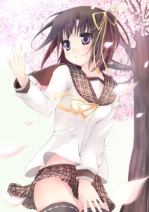 Rating: Safe Score: 39 Tags: ikusan seifuku thighhighs User: blooregardo