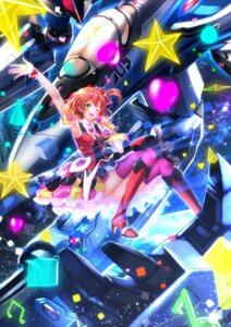 Rating: Safe Score: 26 Tags: dress freyja_wion heels macross macross_delta nopan swordsouls thighhighs User: SubaruSumeragi