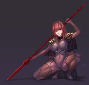 Rating: Safe Score: 26 Tags: bodysuit fate/grand_order heels scathach_(fate/grand_order) senna_(artist) signed weapon User: mash