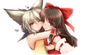 Rating: Safe Score: 17 Tags: .npg hakurei_reimu touhou toyosatomimi_no_miko User: Radioactive