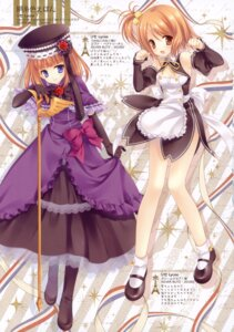 Rating: Safe Score: 37 Tags: dream_c_club eva_beatrice lycée setsu tatekawa_mako umineko_no_naku_koro_ni wnb User: crim