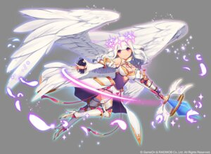 Rating: Safe Score: 37 Tags: angel cleavage heels kamo_kamen thighhighs weapon wings User: blooregardo