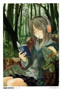 Rating: Safe Score: 10 Tags: headphones megane takano_otohiko User: Aurelia